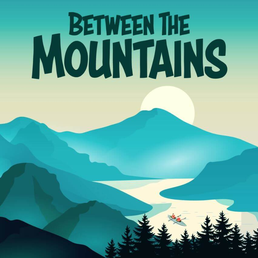 Logo for Between The Mountains