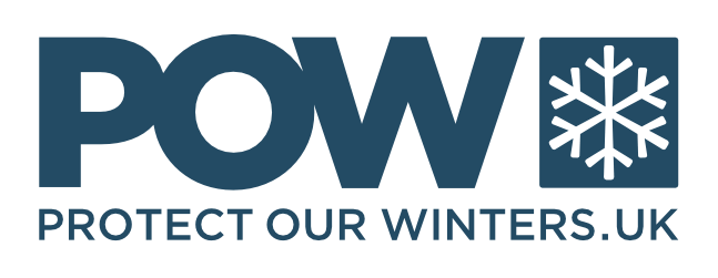 Logo for Protect Our Winters (POW)