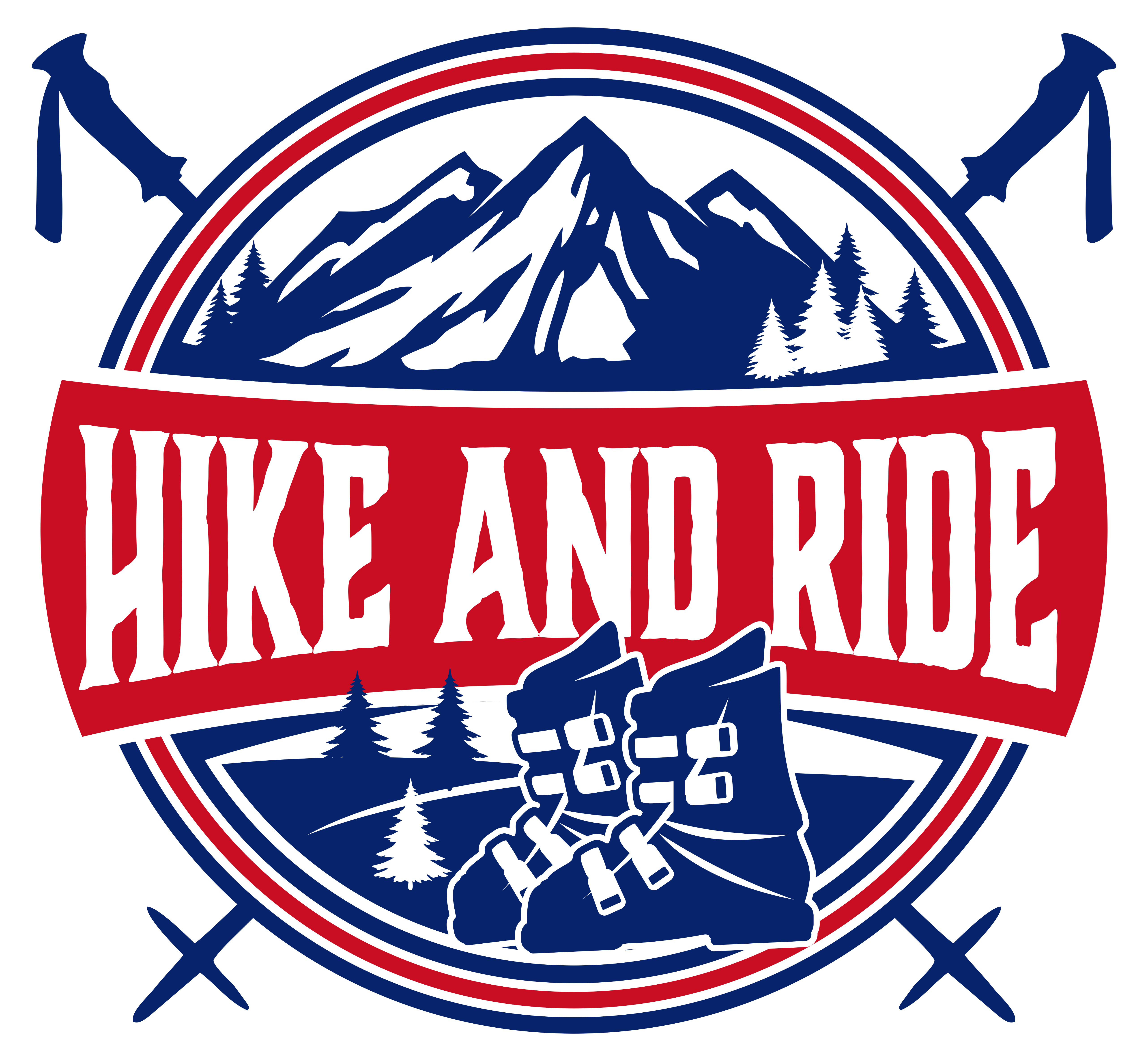 Logo for Hike and Ride